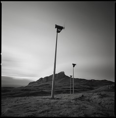 Wind Power (Mark Rowell) Tags: bw 120 6x6 film mediumformat scotland highlands fuji hasselblad acros swc 903 eigg ansgurr