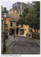 Uphill Lincoln (Paul Simpson Photography) Tags: road street old city history lincolnshire lincoln streetfurniture cobbles historiccity steephill eastmidlands cobbledstreet oldlamp photosof romancity imageof photoof wordsworthstreet cityoflincoln historicengland imagesof historiclincoln sonya77 visitbritian paulsimpsonphotography thingstoseeinlincoln beautifullincoln visitlincoln whattoseeinlincoln march2016