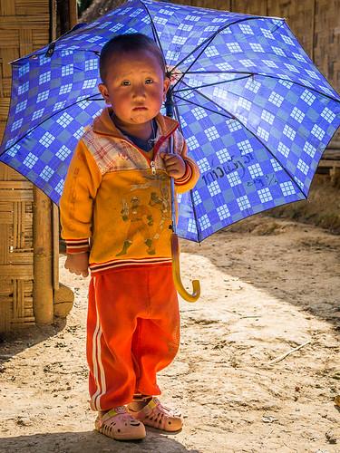 Umbrella boy