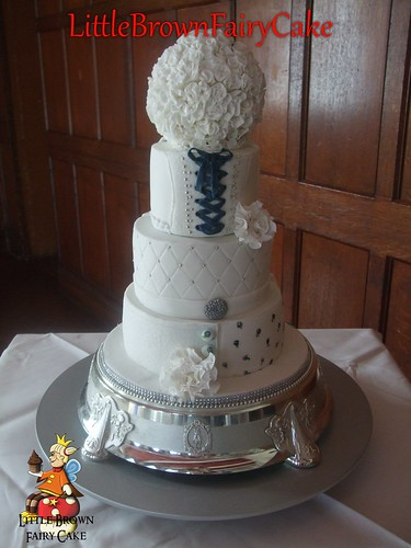 Star Wars Wedding cake reverse