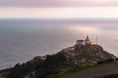 Faro de Finisterre, A Corua (The Pumpkin Theory) Tags: ocean santiago espaa lighthouse faro spain cabo corua camino atlantic galicia oceano atlantico finisterre fisterra