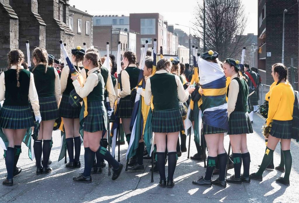SHORECREST HIGH SCHOOL [ST. PATRICK'S PARADE IN DUBLIN 2016]-112214