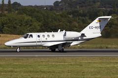 Gestair Excecutive Jet | Cessna 525 CitationJet CJ1 | EC-HVQ (Bradley at EGSH) Tags: luton lutonairport ltn londonlutonairport eggw cessna525citationjetcj1 echvq canon70d gestairexcecutivejet