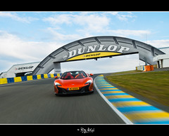 McLaren 650 S on Le Mans (NiCo' ( vip2pak ) - Nicolas TARIQ) Tags: uk orange france car volcano nikon famous mc mans le nicolas traveling circuit supercar tariq laren d800 650s