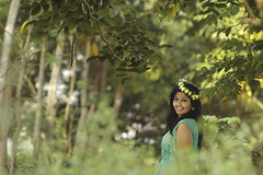 Be Happy  Be Bright Be You !!! (Rahul Ravindaran) Tags: life girls love girl happy photography bright you portfolio modelling greeny