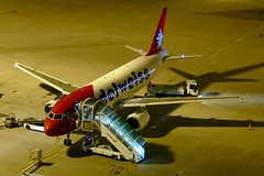 Airbus A320 Edelweiss Air At Night ZRH