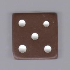 dice backgammon brown 02 5 (seanduckmusic) Tags: dice die backgammon witsendep