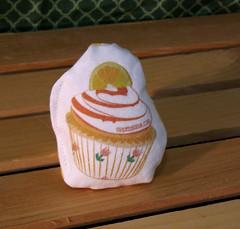 Cat Toy - Orange Cupcake (made by mauk) Tags: cat toys catnip spoonflower madebymauk
