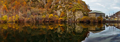 Presa de Las Ondinas de batintin7 (Fotos del concurso de la semana en Dzoom) Tags: landscape mirror flora agua reflejo dzoom riosil paiasaje lasondinas