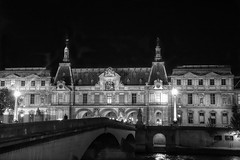 Musee du Louvre and Pont du Carrousel At Night (gr8fulted54) Tags: paris nikon hdr on1 photomatix noiseless tonemapped d7100