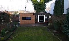 Gemütlich in Homberg (QQ Vespa) Tags: deutschland duisburg garten ruhrgebiet homberg ruhrpott typisch gartenhaus