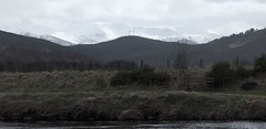 Distant Cairngorms (Bazz The Boozer) Tags: river scotland spey cairngorms speyside