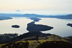 conic hill above loch lomond (laurajones916) Tags: scotland walks hiking loch con lochlomond conichill