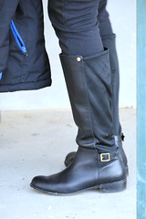 2016-01-03 (71) boots at Laurel Park (JLeeFleenor) Tags: girls woman black photography donna md shoes boots photos femme mulher maryland footwear frau vrouw buckles dona wanita    kneehigh kvinne   nainen kobieta footgear   kvinde ena  kvinna kadn n lamujer    marylandhorseracing  marylandracing ngiphn