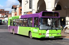 Dennis Dart SLF East Lancs Spryte (DennisDartSLF) Tags: bus 98 dennis ipswich eastlancs dartslf spryte ipswichbuses x98lbj
