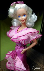 Pertegaz Barbie (Spain) 1988 (Lyna J. Grey) Tags: mannequin spain doll 1988 barbie pop made 80s foreign mattel puppe bambola poupee muneca pertegaz