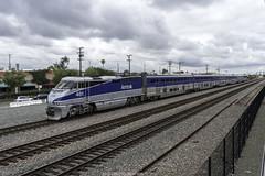 Amtrak Pacific Surfliner (ExactoCreation) Tags: travel train los pacific diesel angeles amtrak locomotive surfliner f59phi