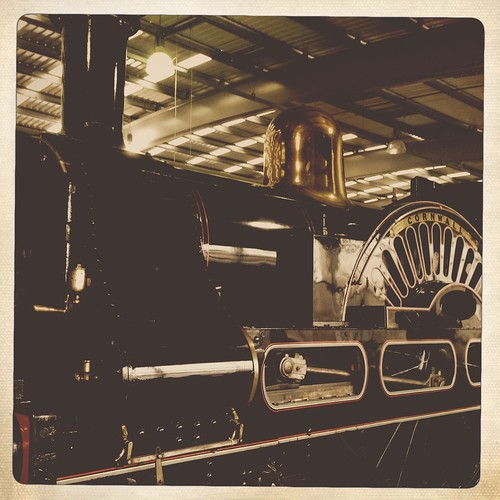 Locomotion: the National Railway Museum at Shildon, Hipstamatic