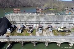 160413_10_warriorridge (lmyers83) Tags: river dam aerial phantom juniata