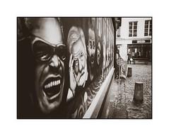 Sur les murs (SiouXie's) Tags: street bw graffiti blackwhite fuji noiretblanc tags urbanart rouen fujifilm normandie rue arturbain siouxies fujix20