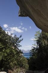 Visuale (Marysol_) Tags: travel sea sky panorama holiday beach colors clouds trekking landscape nuvole mare sardinia bluesky viaggi paesaggi vento baunei panorami ogliastra orosei