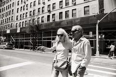 AA011a (heavyasmountains) Tags: nyc newyorkcity blackandwhite slr film 35mm photography nikon candid streetphotography noflash 24mm fm3a filmphotography streetstyle
