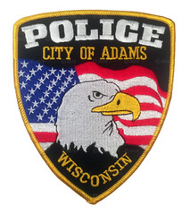 City of Adams Police (Patch Collector) Tags: wisconsin police sheriff patch wi adams