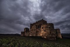 Medieval cures (Darkflip) Tags: longexposure espaa night hospital luces noche medieval ruinas nubes nocturna castillo abandonos largaexposicin linternas tomassanchez lucesdelpasado luisjdelafuente cristinagarciaceleiro