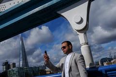 (Jpierrel) Tags: london towerbridge fuji londres fujifilm shard theshard x100s