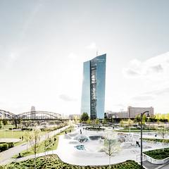 EZB (Philipp Gtze) Tags: sunset urban bright frankfurt clean skatepark urbanism ezb