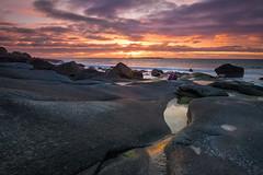 Utakleiv sunset (Reidar Trekkvold) Tags: sunset sea seascape nature water norway landscape seaside natur vann nordnorge solnedgang landskap sj nordland xt10 xf1024ois