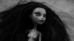 Born to be wild (Allan Saw) Tags: portrait blackandwhite toy doll mh monsterhigh janeboolittle