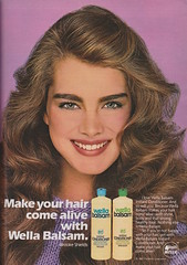 Wella Balsam 1981 (moogirl2) Tags: shampoo 80s brookeshields 80shair vintageads wellabalsam