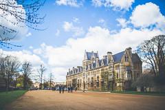Oxford University (George Allard Photography) Tags: old travel blue england sky sun building university culture oxford academic