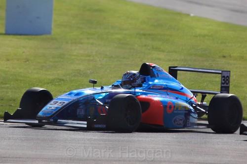 Jamie Caroline in British Formula Four during the BTCC Weekend at Donington Park, April 2016