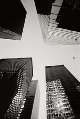 NYC, 2000 (Daniel Salgado Lemos) Tags: blackandwhite usa newyork building blancoynegro canon eeuu rascacielo analogico