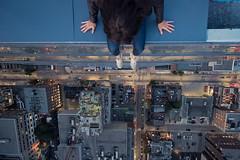 Drop in (tomms) Tags: city toronto vertigo drop lookdown rooftopping