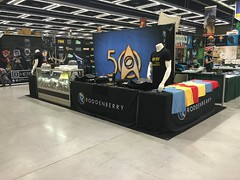 Roddenberry Booth - It's Showtime!