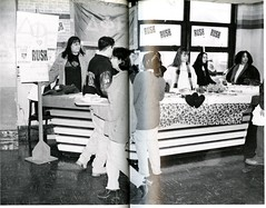 Delta Phi Epsilon Bake Sale (Hunter College Archives) Tags: students events 1996 yearbook social event hunter bakesale valentinesday activities huntercollege socialevents deltaphiepsilon studentactivities wistarion studentlifestyles thewistarion