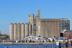 Canadian Malting Co. Limited (jmaxtours) Tags: toronto harbour silos lakeontario torontoontario torontoharbour canadianmalting canadianmaltingsilos maltsilos canadianmaltingcolimited