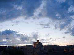 Piazza Armerina - Blue hour (Domenico Raffiotta) Tags: panorama olympus sicily sicilia piazzaarmerina orablu domenicoraffiotta