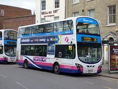 FirstNorwich 36177 - BD11CGF (Zak (Norwich Bus Page)) Tags: blueline 2016 36177 bd11cgf firstnorwich volvob9tlwrighteclipsegemini2 routefec25