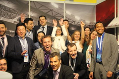 AISTS at SAC2016: Day 3 Thursday (AISTS) Tags: sports smiling fun jumping trampoline lausanne convention delegates sportsmanagement olympiccapital aists sportaccordconvention