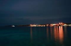 Vouliagmeni Athens (emmgchou) Tags: longexposure sea night nightscape sony athens vouliagmeni sonya7ii