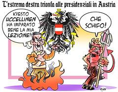 OsterREICH! (Moise-Creativo Galattico) Tags: austria vignette satira attualit moise giornalismo xenofobia destra nazismo editoriali moiseditoriali editorialiafumetti