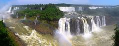 Iguazu Brazil panorama 03 (Michael H) Tags: trees brazil panorama argentina rainbow iguazu iguazubrazil