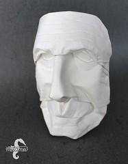 Old Man (Face Study) (mitanei) Tags: face paperart origami gesicht faces mask masks human maske oldmanmask oldface danielchang papierkunst mitanei origamimask papierskulptur keepfoldingon origamiface origamimaske origamigesicht oldmanorigami oldfaceorigami männergesichtorigami