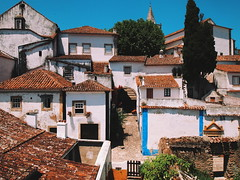 Whitewashed Town of bidos (laurenspies) Tags: portugal architecture cityscape arch bidos leiria