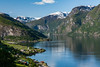 Aurlandsfjord (Markus Trienke) Tags: mountains water clouds canon landscape eos spring ship no norwegen sunny fjord sognogfjordane 450d