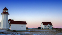 Rural Sunset (vamp8888) Tags: sunset sky lighthouse canada rural landscape quebec gaspesie capdespoir